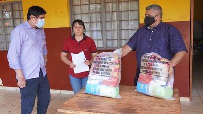 Quejas por MALA CALIDAD de alimentos entregados por la Gobernación