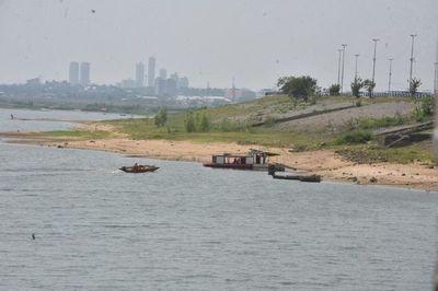 Nivel del río Paraguay en ascenso, subió 11 centímetros en Asunción