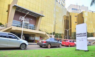 Habilitan autovac en estacionamiento del Shopping Paris de Ciudad del Este – Diario TNPRESS