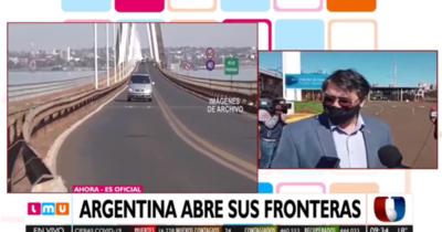 """Un año y medio después: Argentina habilita pasos fronterizos con """"cupos"""""""