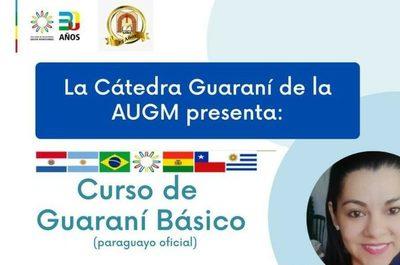 AUGM inicia curso de guaraní para estudiantes de universidades de la red