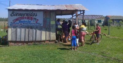 Comedor comunitario genera gran bendición en la zona de Itacurubí