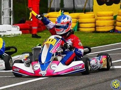 Piloto luqueño se consagró campeón sudamericano de Karting en Colombia •
