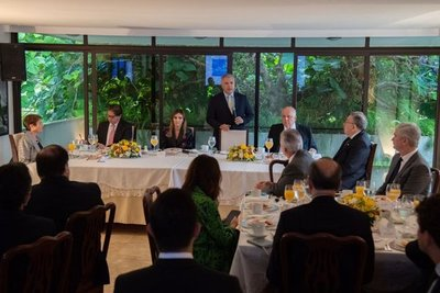 Presidente de Colombia inicia visita oficial a Brasil