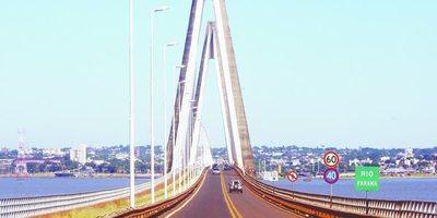 Finalmente, se abre hoy el puente que une a Encarnación y Posada