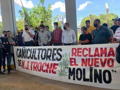 Nuevo tren de molienda para fábrica de Mauricio José Troche beneficiaría a más de 40 mil familias