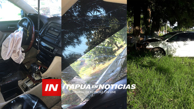 ACCIDENTE EN LA COMPAÑÍA CURUZÚ ESTABAN DE SAN PEDRO DEL PNÁ / Itapúa Noticias
