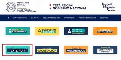 Vacunados en el extranjero deben inscribirse para recibir dosis de refuerzo