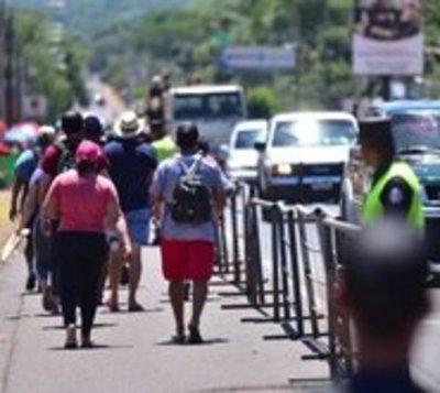 No exigirán carnet de vacunación a peregrinantes en Caacupé 2021