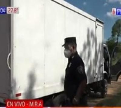 Mariano Roque Alonso: Asaltan camión transportador