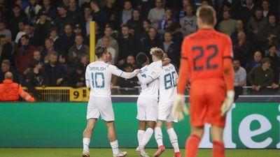 El Manchester City aplasta al Brujas