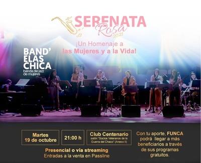 """""""Unidos Contra el Cáncer"""" prepara esta noche la Serenata Rosa"""
