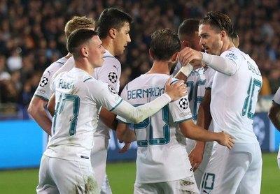 Manchester City reacciona en Champions con una goleada en Brujas