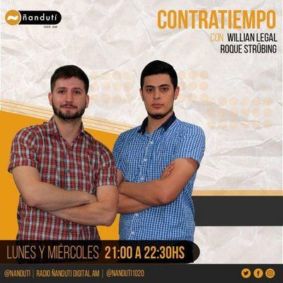 Contratiempo con Willian Legal y Roque Strubing