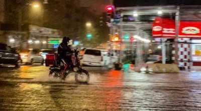 """Gremio de motodeliverys de acuerdo con la campaña """"todos podemos esperar una hora"""""""