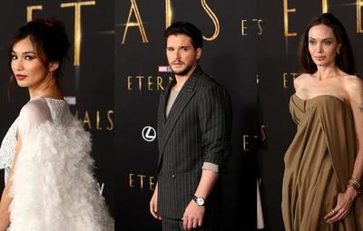 """¡""""Eternals"""" tuvo su alfombra roja en Hollywood!"""