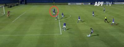La APF explica por qué valió el gol de 'Sebas' Ferreira pese a estar adelantado