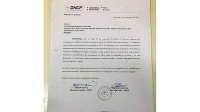 DNCP suspendió llamado de almuerzo escolar en Guairá e investiga el caso