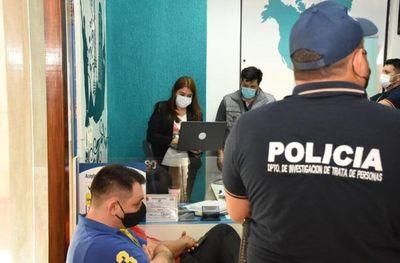 Desbaratan esquema de trata de personas que enviaba paraguayas a España