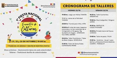 """MAÑANA ARRANCA LA PRIMERA """"FIESTA NACIONAL ENCUENTRO DE CULTURAS"""""""