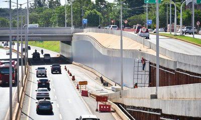 Revestimiento de pantallas del Multiviaducto de Ciudad del Este presenta un 70% de avance – Diario TNPRESS