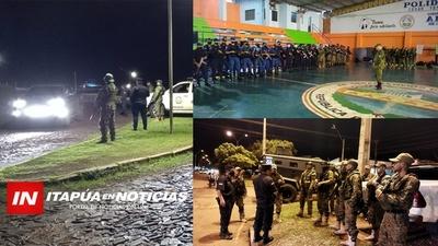 EX DIRECTOR DE POLICÍA DE ITAPÚA LIDERA TRABAJO POLICIAL EN AMAMBAY