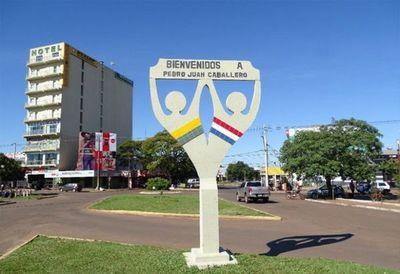 Comerciantes de la capital del Amambay en contra del Estado de Excepción