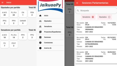 Una app para conocer a nuestros legisladores