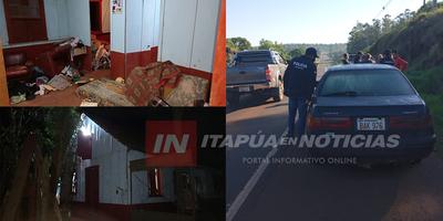 VIOLENTO ASALTO DOMICILIARIO EN OBLIGADO