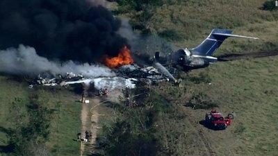 Crónica / [VÍDEO] ¡MILAGRO! Un avión se cayó y explotó pero ¡todos los pasajeros quedaron ilesos!