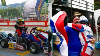 Paraguay, en lo más alto del karting
