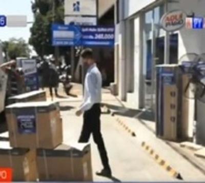 San Lorenzo: Municipalidad ordena despeje de veredas