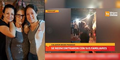 ABRIÓ EL PUENTE Y UNA FAMILIA DE 10 HERMANOS SE REENCONTRÓ EN PARAGUAY DESPUÉS DE MUCHO TIEMPO