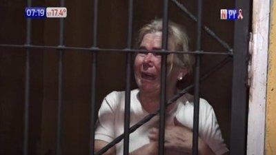 Mujer de 67 años pasó la noche en la comisaría