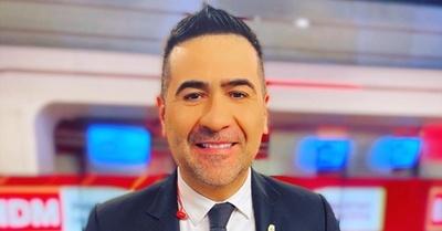 Roberto Pérez, con mucho orgullo, destacó a su hijo, Paulo