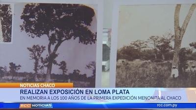 REALIZAN EXPOSICIÓN EN LOMA PLATA