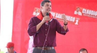 Crónica / Peña dijo que hoy es candidato a presi, lamentó salida de Harrison y desafió a Marito