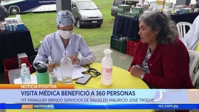 VISITA MÉDICA BENEFICIÓ A 360 PERSONAS