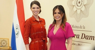 ¡Se reúnen las reinas! El encuentro entre Nadia Ferreira y la Primera Dama