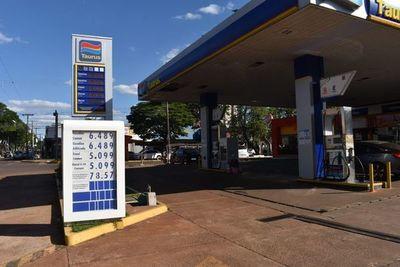 En Ponta Porã el precio del combustible está ligeramente más bajo que en Pedro Juan