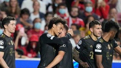 Bayern Münich mantiene el 'modo demoledor' ante el Benfica