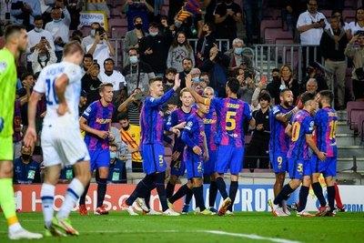 Barcelona gana a Dinamo de Kiev y toma un poco de aire en la Champions