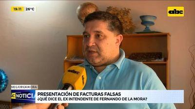 Intendente de Fernando de la Mora se deslinda de responsabilidades por facturas falsas