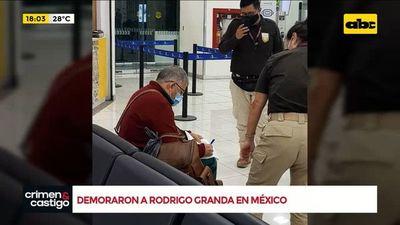 Granda volvió a Colombia, el mismo había colaborado en el secuestro de Cecilia Cubas