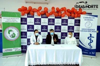 La Gotita que Falta: Tercera Campaña de Donación de Sangre realizada por Universidad Sudamericana y el IPS