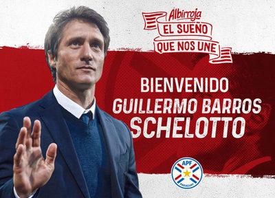 Guillermo Barros Schelotto es el nuevo técnico de la Albirroja