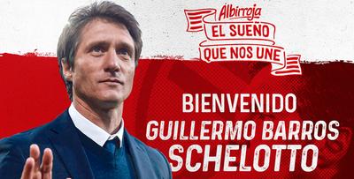 Guillermo Barros Schelotto es nuevo entrenador de la Albirroja