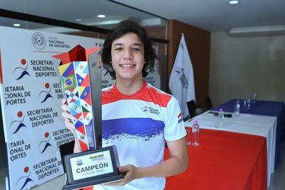 Team KCP Paraguay recibe reconocimiento de la SND