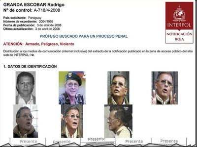 Asesor de crimen de Cecilia Cubas zafa la  posibilidad de extradición