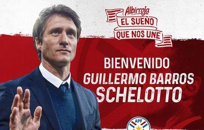 Guillermo Barros Schelotto fue confirmado como nuevo DT de la Albirroja